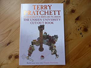 The Unseen University Cut-Out Book: AS NEW: Pratchett, Terry; Pearson,