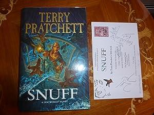 Snuff: A Discworld Novel:FINE SIGNED & STAMPED: Pratchett, Terry