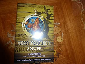 Snuff:MINT DOUBLE SIGNED EXCLUSIVE PROOF SAMPLER: Pratchett, Terry