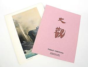 Taikan Yokoyama, Grand-Palais, Paris, Du 24 Mai au 19 Juin 1977