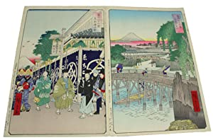 Thirty-six Views of Mount Fuji; Fuji Sanju-Rokkei, Fugaku Sanjurokkei, Ukiyo-e Woodblock Prints: ...