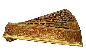 Burmese Kammavaca Buddhist manuscript
