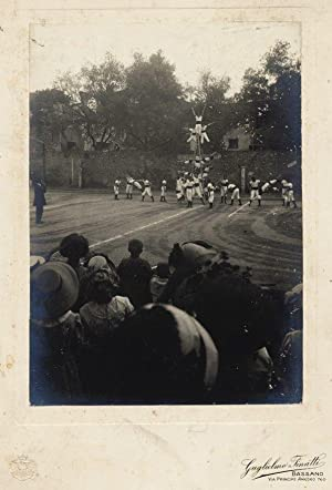 Bassano Vicenza Sport People Original large gelatin silver photo 1920c Finatti
