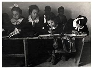 Photograph Patellani The rural education in Italy in the Fifties Original photo 1950's L351