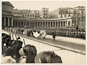 Adolfo Porry-Pastorel Rome Royal wedding Vintage gelatin silver photo 1930c L563