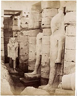Photograph Egypt Luxor n. 979 Three Ramses: Zangaki