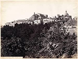 Photograph #1337 View of Monreale Palermo Sicily Large albumen 1860c Sommer & Behles L108