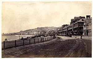 Dover England Marine parade Vintage albumen photo Frith series 1870c L262