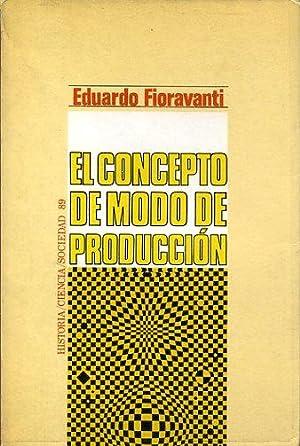EL CONCEPTO DE MODO DE PRODUCCION: EDUARDO FIORAVANTI