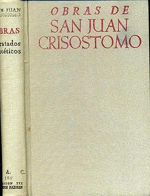 OBRAS DE SAN JUAN CRISOSTOMO. TRATADOS ASCETICOS: DANIEL RUIZ BUENO (TEXTO GRIEGO, VERSION ESPAÑOLA...