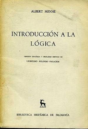 INTRODUCCION A LA LOGICA: AlBERT CAMUS