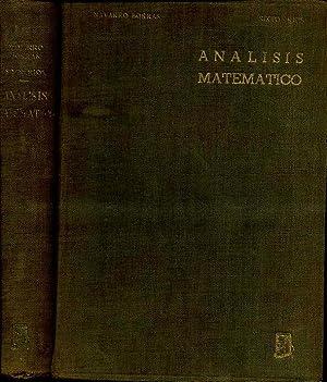 ANALISIS MATEMATICO. CURSO PRELIMINAR DE ANALISIS MATEMATICO: NAVARRO BORRAS Y SIXTO RIOS