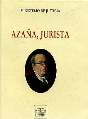 AZAÑA, JURISTA: ANTONIO PAU PADRON