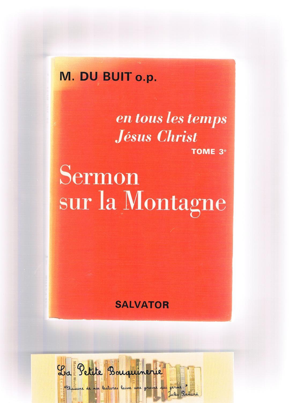 Sermon sur la montagne - Michel Du Buit