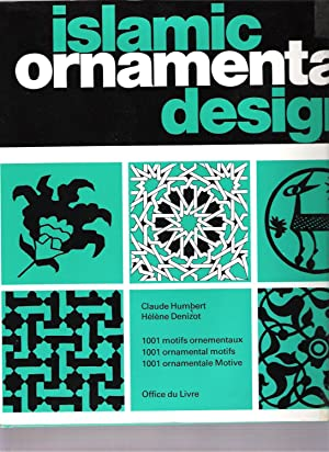 Islamic ornamental design - 1001 motifs ornementaux, 1001 ornamental motifs - 1001 ornamentale Mo...