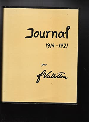 Journal 1914 - 1921, Vol. III