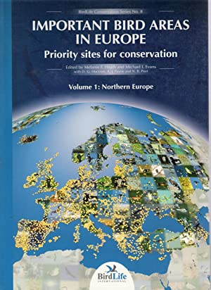 Important Bird Areas in Europe - Priiority Sites for Conservation - 2 Volumes