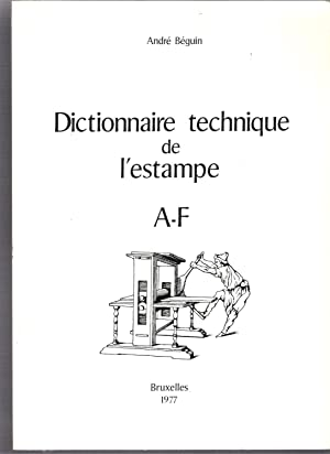 Dictionnaire technique de l'estampe, 3 vol.