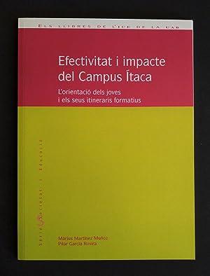 Efectivitat i impacte del Campus Ítaca. L'orientació: Martínez, Màrius; García,