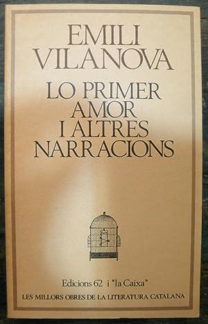 Lo primer amor i altres contes: Vilanova, Emili