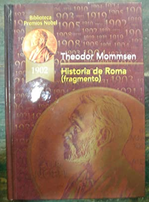 Historia de Roma (fragmento): Mommsen, Theodor