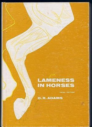 LAMENESS IN HORSES: Adams, O.R.