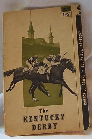KENTUCKY DERBY 1875 - 1951: Churchill Downs (Brownie