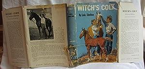 WITCH'S COLT, First Edition HC w/DJ: Shelton, Lola (Sam Savitt illustrator)