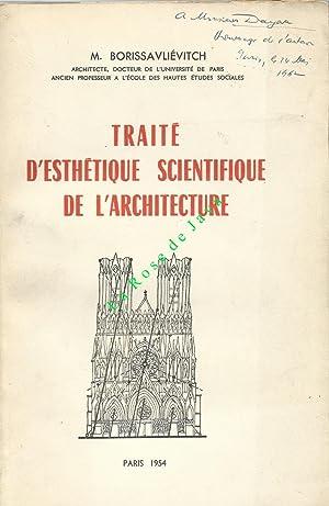 Traité d'esthétique scientifique de l'architecture.: BORISSAVLIEVITCH Miloutine