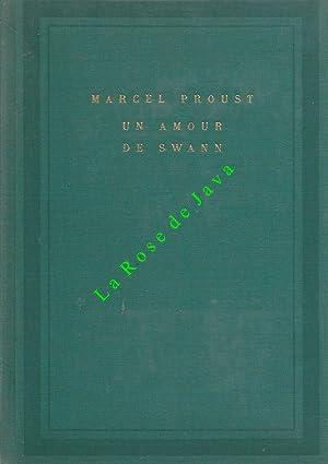 Un amour de Swann.: PROUST Marcel