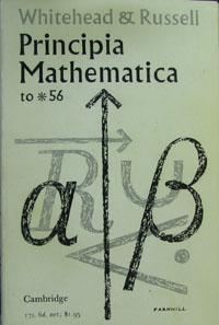 Principia Mathematica to *56: WHITEHEAD,ALFRED NORTH and