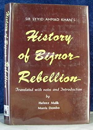 Sir Sayyid Ahmad Khan's History of the: Malik, Hafeez and