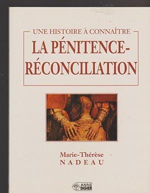 PENITENCE-RECONCILIATION: Marie-Thérèse Nadeau.