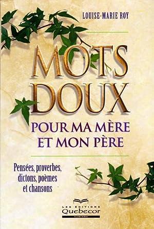 9782764006153 Mots Doux Pour Ma Mère Et Mon Père Pensées