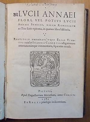 Lucii Annaei Flori, vel potius Lucii Annaei: FLORO