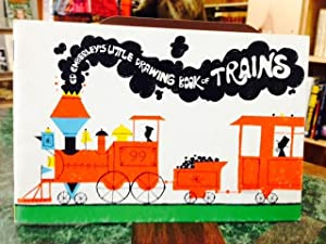 Ed Emberly Little Drawing Book of Trains: Emberley, Ed
