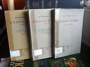 Journal Intime Annees 1839 A 1850: Amiel, Henri-Frederic