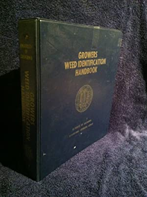 Index to the Growers Weed Identification Handbook By Family and By Alphabetical Listing (Sheets Wl-...