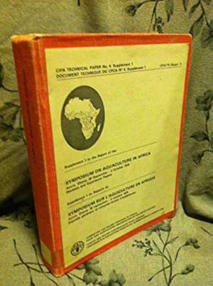Symposium on Aquaculture in Africa 1975: Committee