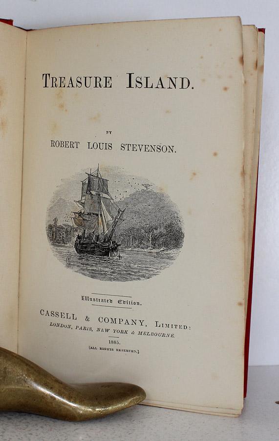 Treasure Island Robert Louis Stevenson First Edition