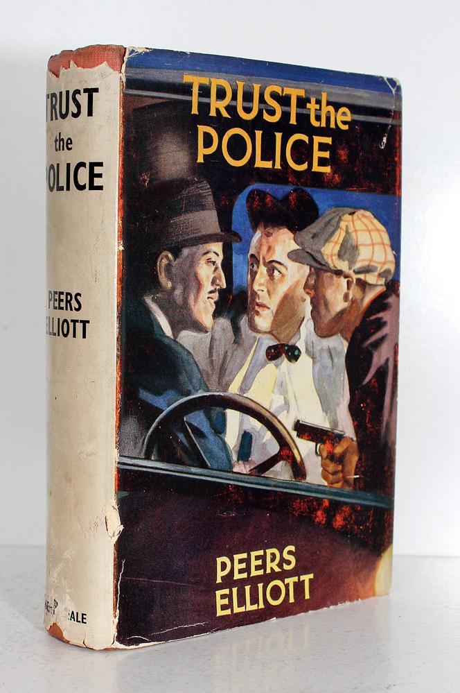 Trust the Police Peers Elliott Good Hardcover