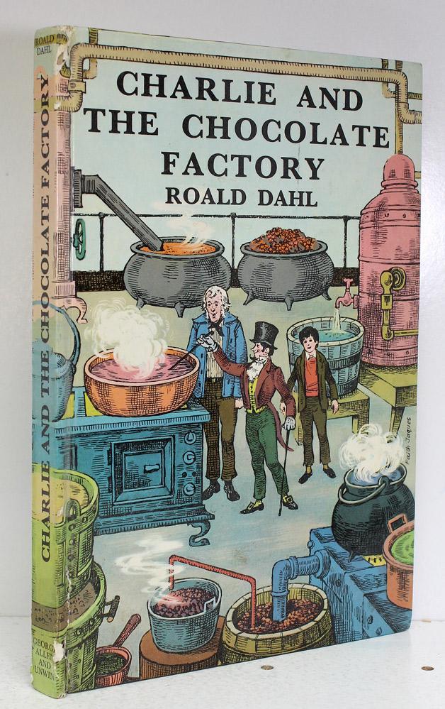 Роальд даль-чарли и шоколадная фабрика без перевода