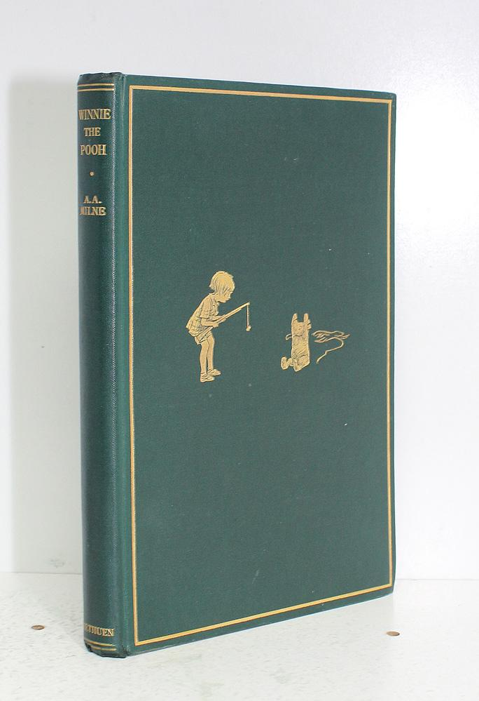 Winnie the Pooh A A Milne Near Fine Hardcover