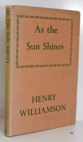 As the Sun Shines Henry Williamson