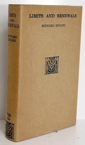 Limits and Renewals: Rudyard Kipling