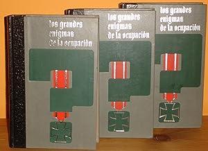 LOS GRANDES ENIGMAS DE LA OCUPACION, (3 libros): Jean Dumont