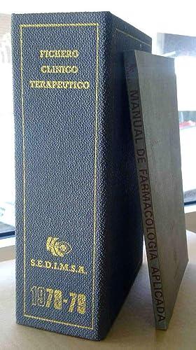 FICHERO CLINICO TERAPEUTICO / MANUAL DE FARMACOLOGIA APLICADA :(Libro + fichero): s/d