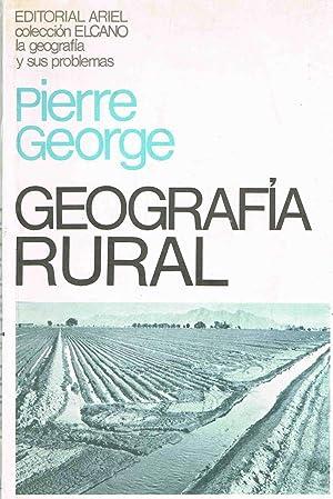 GEOGRAFIA RURAL,: Pierre George
