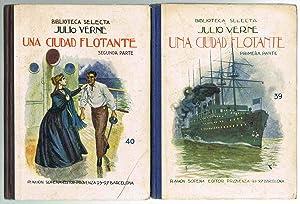 UNA CIUDAD FLOTANTE (2 libros),: Julio Verne