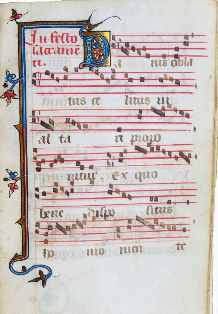 [MANUSCRIT]. Processional à l'usage des Dominicaines de Saint-Louis-de-Poissy. En latin...